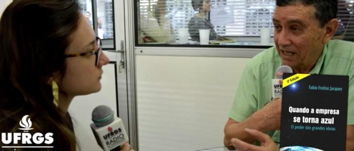 Livro do modelo GAIA é tema de entrevista na Rádio da UFRGS