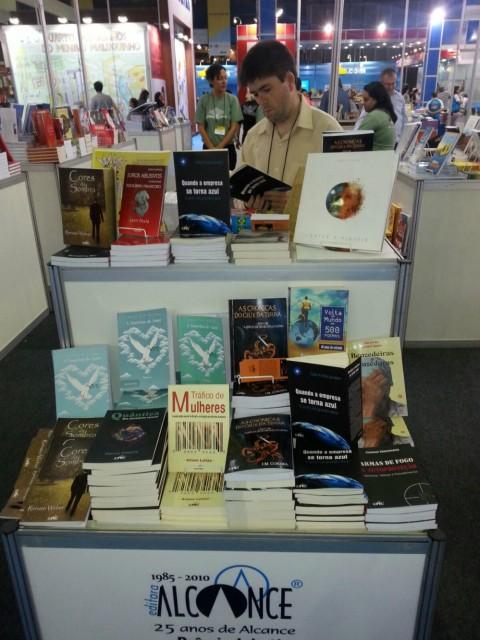 O livro na Bienal do Rio de Janeiro. (Foto: Divulga���§���£o)