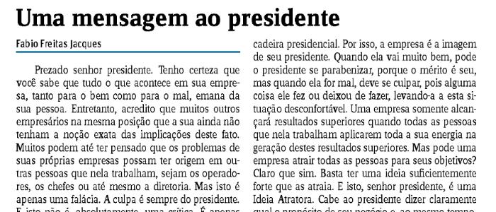 Jornal do Comércio publica novo artigo de Fabio Jacques