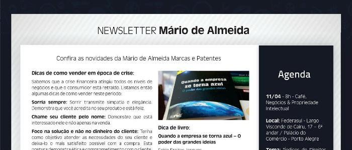 Livro do Modelo GAIA é destaque em newsletter da Mário de Almeida