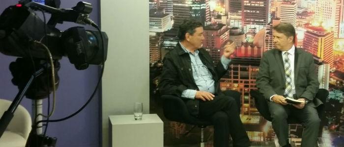 Fabio Jacques foi destaque no programa do jornalista Bibo Nunes