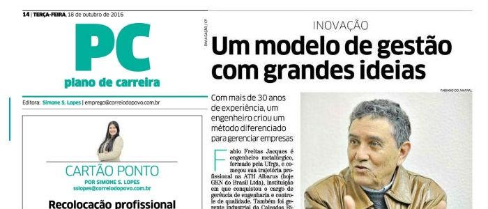 Correio do Povo destaca diretor da FJacques
