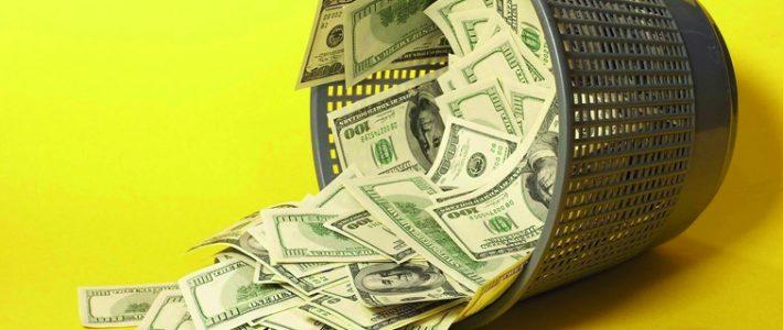 Pare de jogar dinheiro fora, pô!